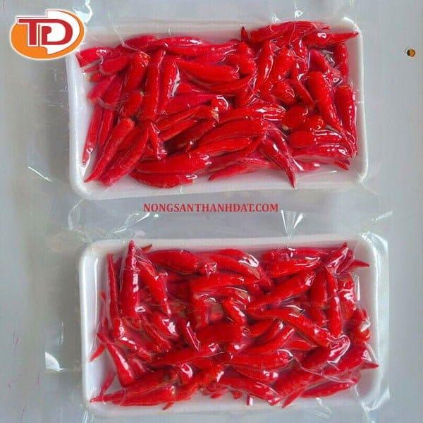 Ớt hiểm đông lạnh (Frozen Red Chilli) 04