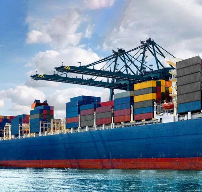Tàu Container (Container Ship) (Ảnh: Báo Nông nghiệp)